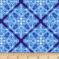 Henry Glass Blue Dream Casablanca Tile Blue