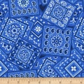 Henry Glass America The Beautiful Bandana Blue