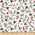 Patrick Lose Studio Santa's Stash Holiday Greenery White