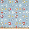Springs Creative Disney Classic Dumbo Polka Dots Light Blue