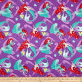 Springs Creative Disney The Little Mermaid Princess Ariel Princess All Over Purple