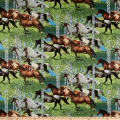 Springs Creative Wild Wings Horses Running Free All Over Multi