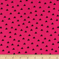 Clothworks Little Super Hero Geo Fuchsia