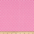 Clothworks Little Super Hero Dot Fuchsia