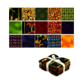 Clothworks Follow The Sun Fat Quarter 15 Pcs Multi