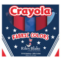 "Crayola Kaleidoscope 18"" Fat Quarter Box Fourth Of July 10pcs"