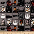 Star Wars Refresh Heroes in Squares Grey