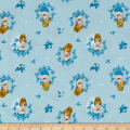 Disney Forever Princess Cinderella In Wreaths in Light Blue