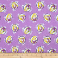 Disney Forever Princess Rapunzel In Circles in Purple