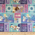 Disney Olaf's Frozen Adventure Characters in Block in Multi