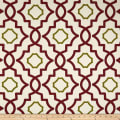 Magnolia Home Fashions Brookside Canvas Red