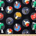 DC Justice League Activated Justice Badges Black