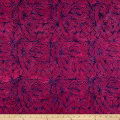 Banyan Batiks Visual Sounds Diamonds Pink/Purple