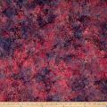 Banyan Batiks Shattered Garden Packed Mums Purple/Pink