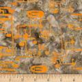 Banyan Batiks Codes And Circuits Orange