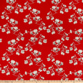 Art Gallery Magnolia Study Silkroad Rayon Red