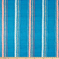 Art Gallery Woven Trails Lake Canvas Blue