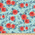 Penny Rose Hedge Rose Main Aqua