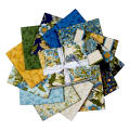 Kaufman Avery Hill Fat Quarter Bundles 13 Pcs Blue