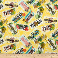 Trans-Pacific Textiles Hawaiian License Plate Yellow