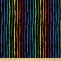 Epic Woof N' Whiskers Rainbow Stripe Basic Black