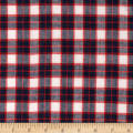 Madras Yarn-Dyed Plaids Red/Navy/White