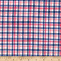 Madras Yarn-Dyed Plaids Pink/White/Blue