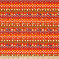 Fabric Editions Jurassic Journey Zig Zag