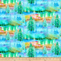 Fabric Editions Wild And Whimsy Forest