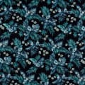 Kokka Resort Tropical Floral Canvas Navy
