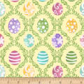 Hoppy Easter Easter Egg Harlequin Yellow