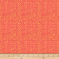 QT Fabrics Christine Graf Jamboree Wavy Check Yellow/Orange