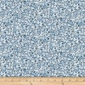 QT Fabrics  Juliette Scroll Blue