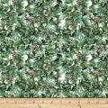 QT Fabrics Desiree North Woods Neighbor Pine White