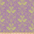 QT Fabrics  Echo Lyla Damask Wisteria/Light Green