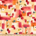 QT Fabrics Delia Watercolor Patches Butterscotch