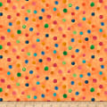 QT Fabrics Delia Dot Orange