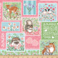Forest Friends Patch Pink