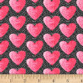 Hearts of Love Small Set Hearts Gray/ Pink