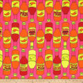 Alexander Henry Fabrics El Fuego (the fire) Hot Pink