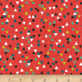 Into The Woods Small Triangles Red
