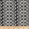Into The Woods Geo Stripe Dark Charcoal