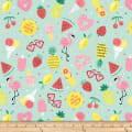 Summerlicious Summer Motif Tossed Green