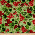 Maywood Studio Chloe Geraniums Light Green