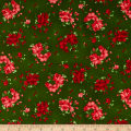 Maywood Studio Chloe Geranium Sprigs Deep Green