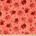 Maywood Studio Chloe Geranium Sprigs Soft Red