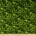Maywood Studio Chloe Tonal Leaves Green
