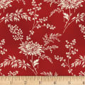 P&B-WSS Temperance Reds Main Floral Red