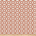 Fabricut Tension Lattice Chenille Persimmon