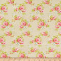 Freespirit Darling Meadow Lil Roses Ivory